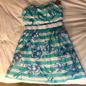 Lilly Pulitzer Langley strapless dress